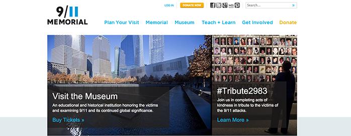 Guía del Museo memorial 11S. Nueva York