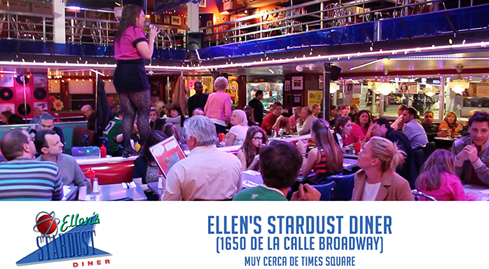 Ellens-Stardust-Diner-_-Home-of-the-Singing-Waitstaff. Comer barato en Nueva York
