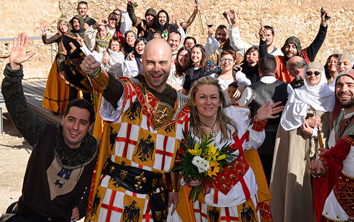 boda villena medieval