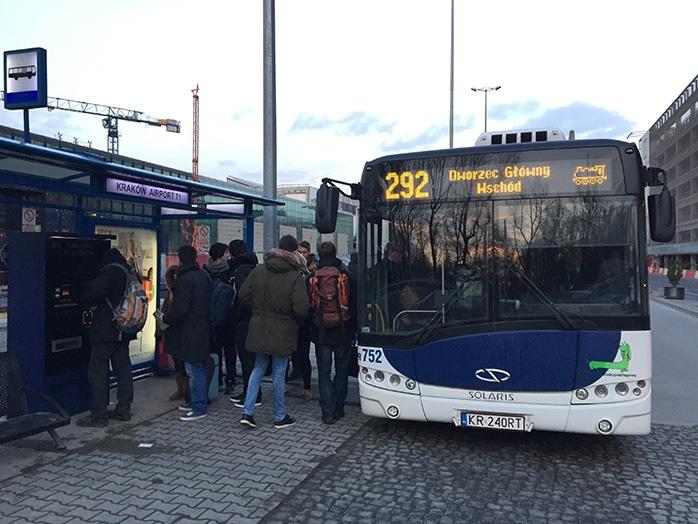 Cómo ir del aeropuerto de Cracovia al centro de la ciudad