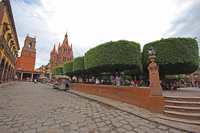 plaza-san-miguel-de-allende
