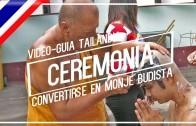 Ordenación de un monje en Tailandia