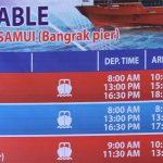 Cómo ir de Koh Samui a Koh Phangan, Koh Tao, Krabi, Ao Nang, Puket… (Horarios y precios)