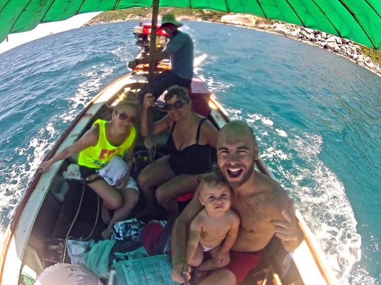 Tour en barca por Koh Tao. Tailandia