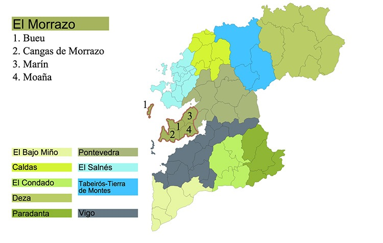 mapa el morrazo