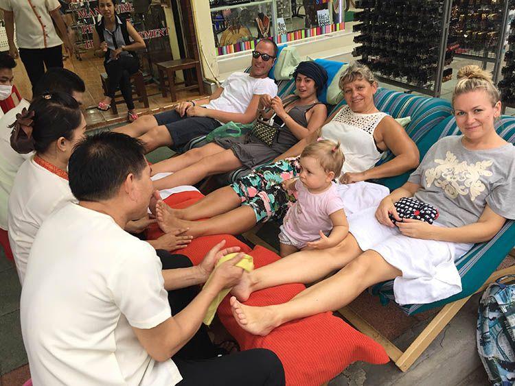 masaje de pies tailandia