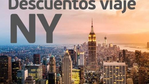 Descuentos viaje Nueva York