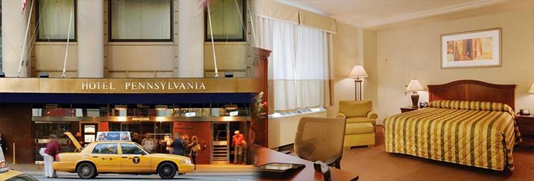 Descuentos viaje Nueva York. Hotel-Pennsylvania