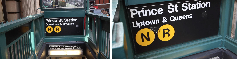 entradas metro nueva York
