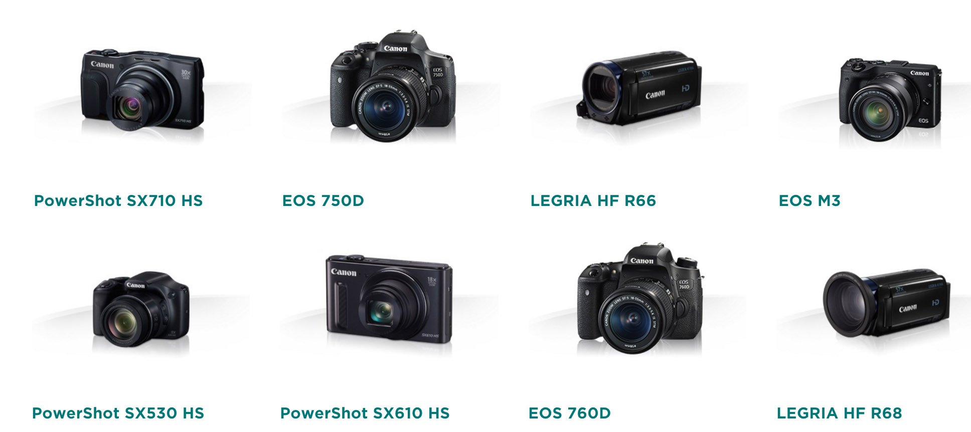 productos canon compatibles CS100