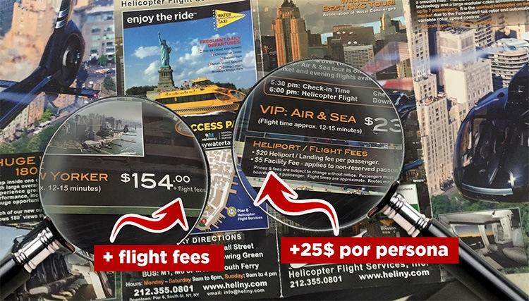 precios helicoptero Nueva York