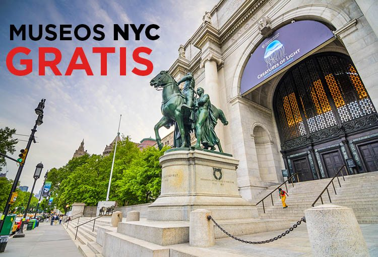 MUSEOS GRATIS NYC