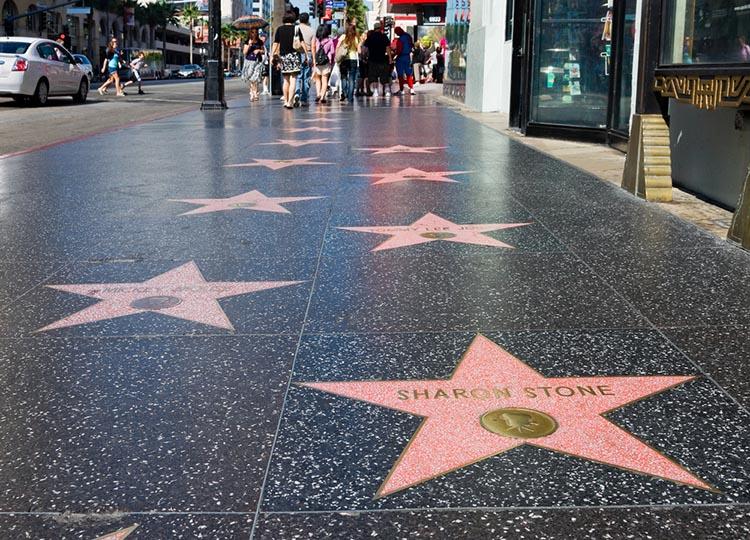 Ruta costa oeste EEUU 16 días. Guía y presupuesto Hollywood Boulevard los Angeles