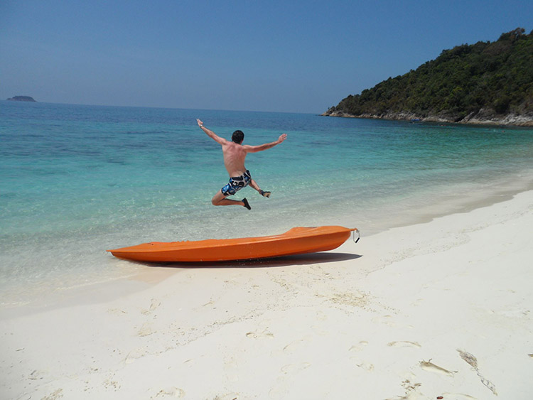 Las islas Perhentian en Malasi