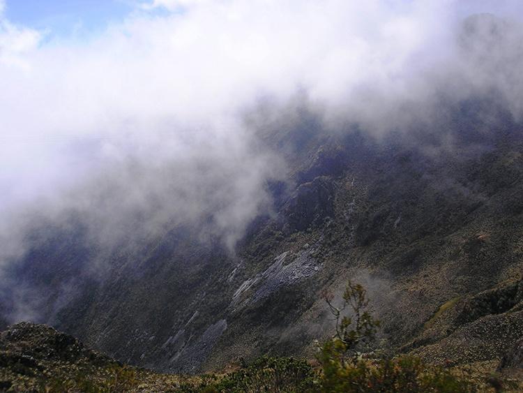 Pico del Águila, Mérida;Venezuela