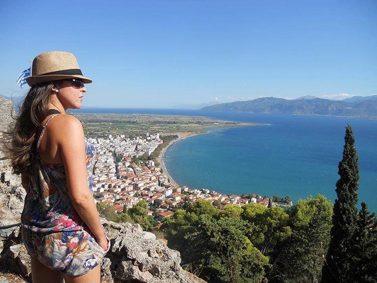 Nafpaktos, en Grecia