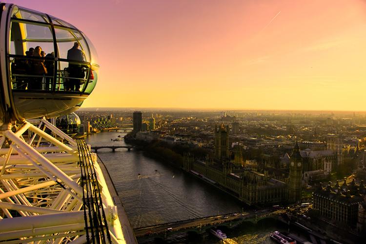 Preparativos viaje a Londres low cost noria londres precios