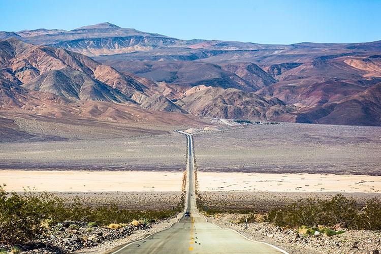 valle de la muerte. Costa oeste EEUU. Ruta 16 días. Guía y presupuesto