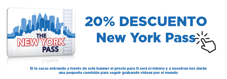 Descuento 20% en el New York Pass