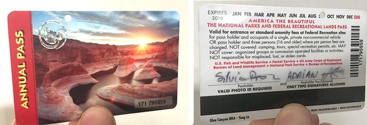 anual pass parques nacionales