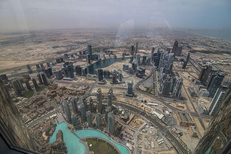 El rascacielos más alto del mundo Burj Khalifa Dubai vistas Burj Khalifa