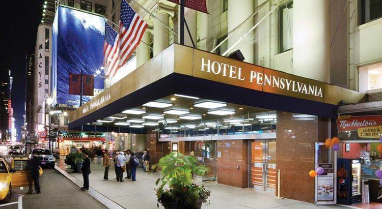 10 hoteles en Nueva York baratos y céntricos Hotel Pennsylvania