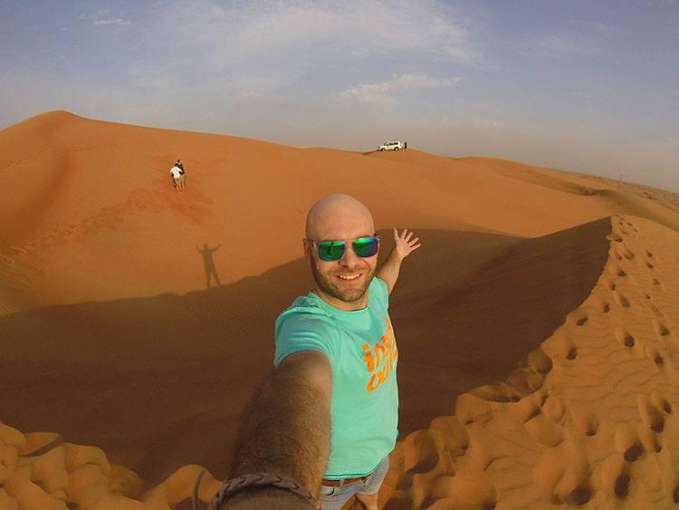 Safari por el desierto de Dubai en 4x4