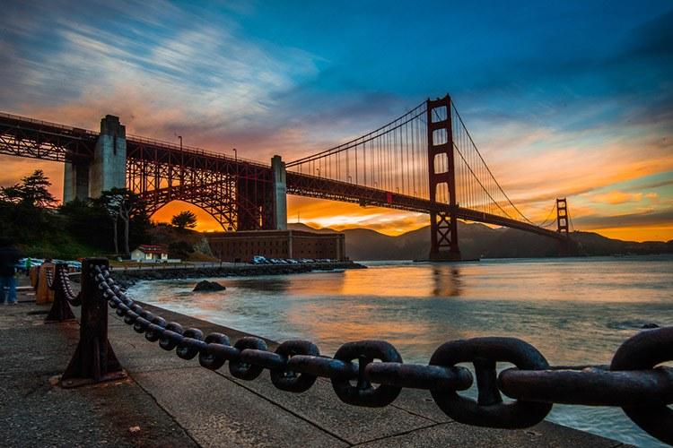 5 Mejores miradores al puente Golden Gate. San Francisco