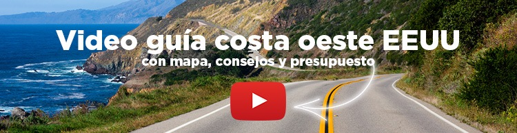 video guia costa oeste USA Molaviajar