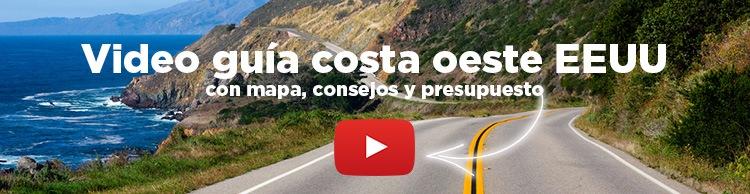 video guia costa oeste USA Molaviajar Presupuesto viaje Costa Oeste Estados Unidos