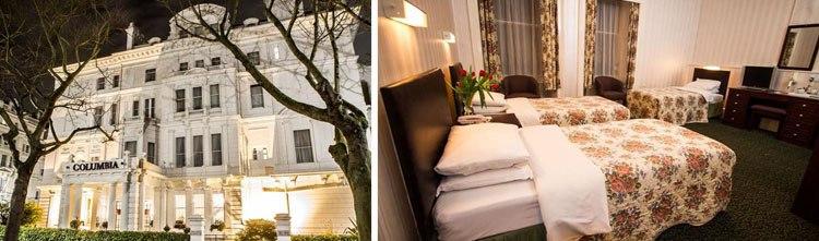 columbia. 15 hoteles baratos en Londres céntricos