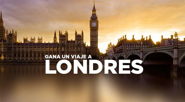 Gana un viaje a Londres para 2 personas