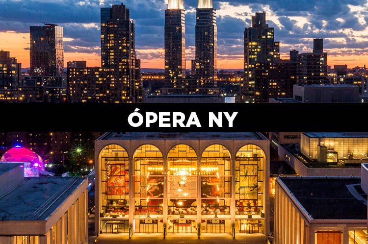 Entradas para la Ópera de Nueva York