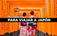 15 consejos para viajar a Japón tranquilo