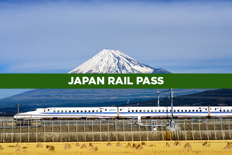 Japan Rail Pass. Billete de tren para viajar por Japón