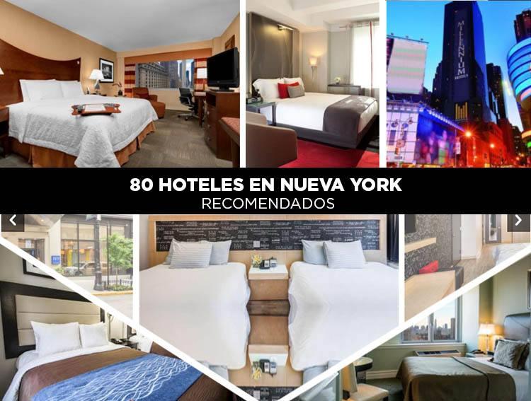 80 hoteles en Nueva York recomendados