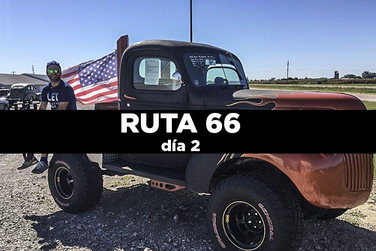Ruta 66 día 2: Springfield – Springfield  540 km