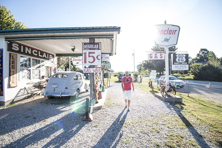 Ruta 66 día 3 Springfield – Oklahoma City 500 Km