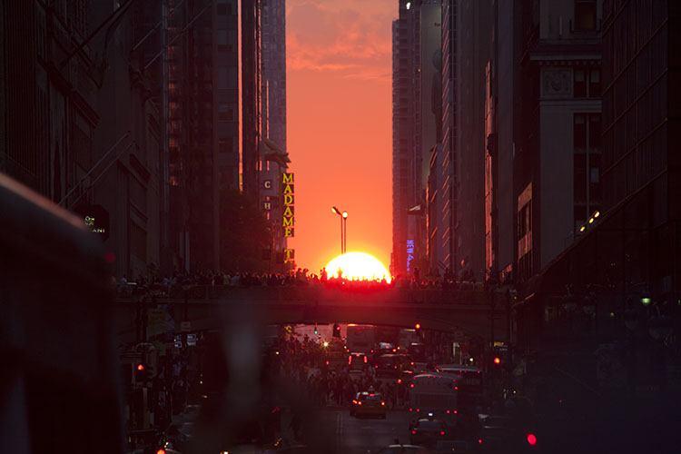 Manhattanhenge 2017 fechas y lugar para fotografiarlo