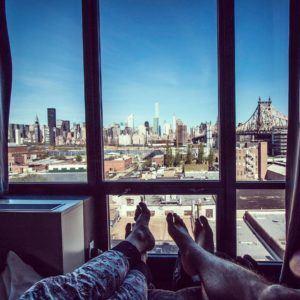 Dormir con estas vistas de Nueva Yorkque recuerdos!!! Ultimamente oshellip