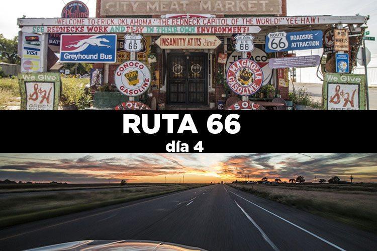 Ruta 66 día 4: Oklahoma City – Amarillo 434 km