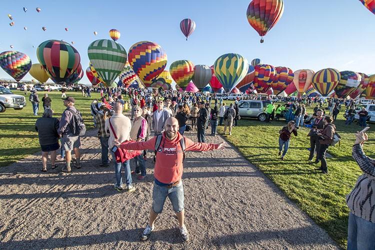 Festival de Globos Albuquerque molaviajar
