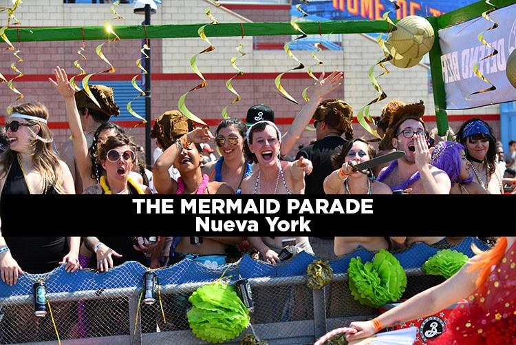 The Mermaid Parade en Coney Island molaviajar
