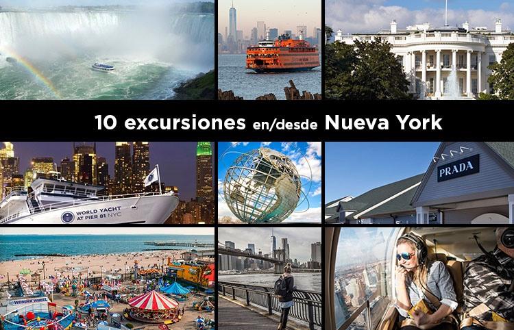 Las 10 mejores excursiones para hacer en Nueva York