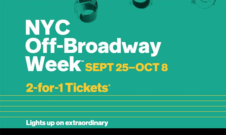 Semana off Broadway en Nueva York 2×1 en entradas