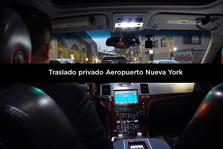 Traslado privado Aeropuerto Nueva York a tu hotel