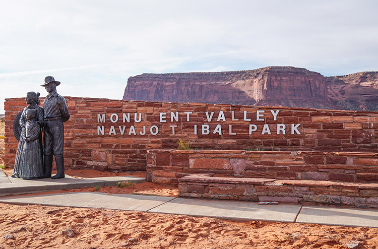 Entrada Monument valley