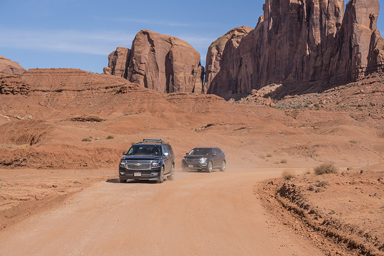 tour coche monument valley no peligro