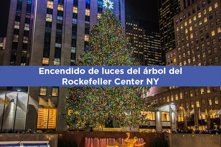 Encendido de luces del árbol del Rockefeller Center 2019