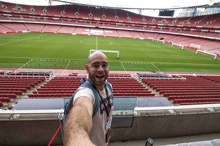 Estadio del Arsenal molaviajar